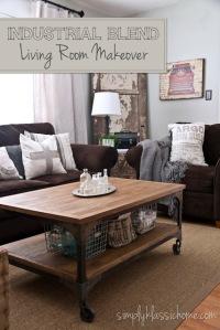 industrial blend living room title