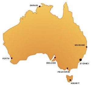 MapAustralia